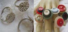 anillos con botones.....Las joyas de la corona...