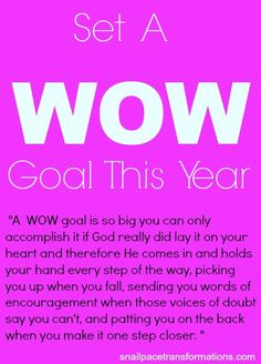 Say Goodbye To Survival Mode: The Book That Inspired Me To Set A Wow Goal - Snail Pace Transformations