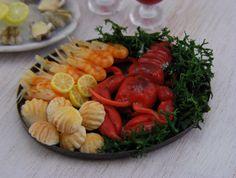 Lobster Tonight  112 Scale Dollhouse Miniature by shayaaron, $39.00