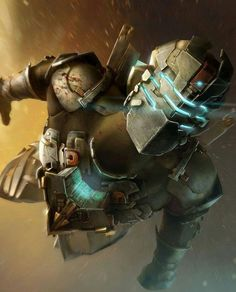 I am obsessed over dead space this artwork is so cool