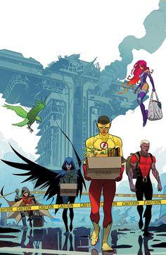 "Teen Titans (2016-) #16 ""THE FOLLOWING"" (1280×1967)"