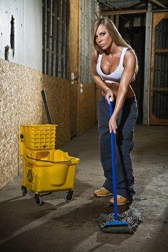 All girl academy erotic janitor