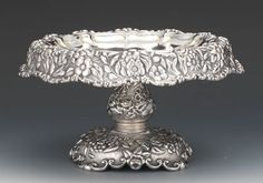 Tiffany & Co. Silver Plate Cake Pedestal