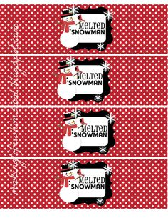1000 images about water bottle label on pinterest water bottle labels melted snowman and. Black Bedroom Furniture Sets. Home Design Ideas