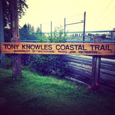 Walk or rent a bike down this trail in the Summer