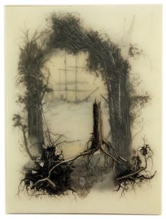 Surreal Landscape Illustrations by Brooks Shane Salzwedel