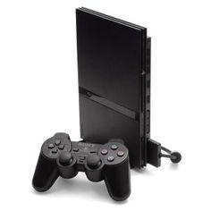 Console PlayStation 2 Slim com 1 Controle Sony 3865685 Playstation 2 Slim, Playstation Consoles, Xbox, Game Development Company, Video Game Development, Ps2 Slim, The Dark Crystal, Rockstar Games, Gaming Accessories