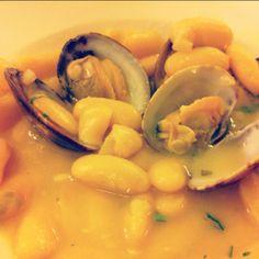 Fabes con almejas #Asturias #ComparteAsturias