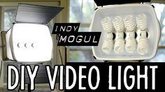 How-to: Powerful DIY video light (800 watt equivalent)