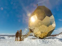 Bigert & Bergström's golden egg symbolises a change of seasons - News - Mark Magazine