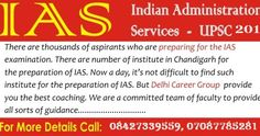 Delhi Career Group is the premier coaching institute for IAS in Chandigarh. We provide practical training for IAS coaching. Our institute has very high ratio of success in the region of IAS. Nda Exam, Ias Officers, Now A Days, Cope Up, Previous Year Question Paper, Mock Test, Learning Methods, Energy Level, Study Materials