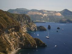 It took 260,000 years of volcanic activity for the Aeolian Islands to meld into their present shape. That rich natural history explains why geologists have studied this volcanic archipelago for the past 2 centuries. Located north of Sicily, the islands are also a popular tourist attraction during the summer.