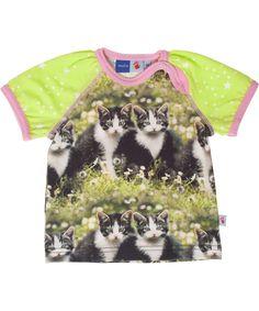 Molo cute cat printed baby t-shirt. molo.en.emilea.be