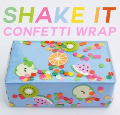SHAKE IT CONFETTI WRAP HOW TO HEADER