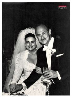 Gerald McRaney & Delta Burke on their wedding day 28 May 1989
