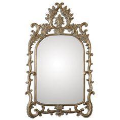 Abelia Gold Arch Mirror