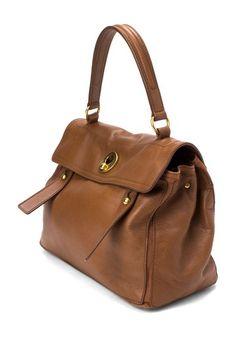 Yves Saint Laurent Leather Muse Two Handbag