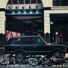 """""""Range Rover parking only may not be so PC now as far as advertising goes!"""""""