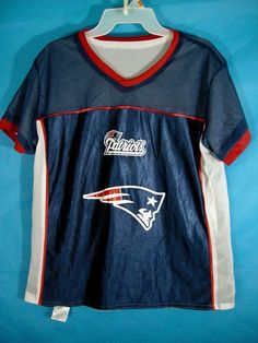 b848b6879aa New England Patriots NFL Flag Football Reversible Play 60 Jersey Adult  Meduim #BD #NewEnglandPatriots