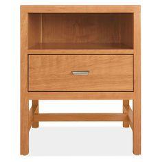 Room & Board - Berkeley 20w 19d 25h One-Drawer Nightstand