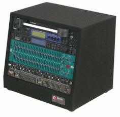 Amazon.com: Odyssey CRS08 8 Space Carpeted Studio Rack: Musical Instruments