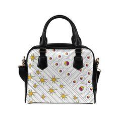 CV0076 Vectangle Starbubbles Shoulder Handbag (Model 1634) More bags with this design: http://www.artsadd.com/search/cv0076?rf=10791