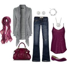 """""""Fall Outfit"""" by masilly1 on Polyvore by dorthy"""