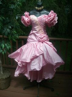 VINTAE 80S PROM PARTY DRESS BEST IN SHOW BACHELORETTE S RARE