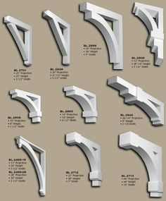 Porch roof bracket support porch kit flat roof porch House brackets