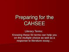 Cahsee essay 2012? please help?