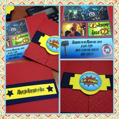 Party Avengers #invitaciones