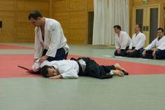 Aikido Kyuprüfungen im Budokan Wels (Oberösterreich) im Dezember 2015 – Gokyo Fixierung