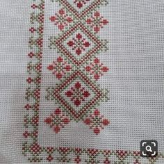 # Home Decor bohemian Cross Stitch Borders, Cross Stitch Flowers, Cross Stitch Designs, Cross Stitching, Cross Stitch Embroidery, Cross Stitch Patterns, Crochet Bedspread, Fabric Houses, Bargello