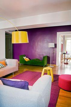 101 fantastiche immagini su pareti colorate colori for Immagini di pareti colorate