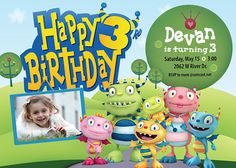 Hey, I found this really awesome Etsy listing at https://www.etsy.com/listing/129924163/henry-hugglemonster-birthday-party