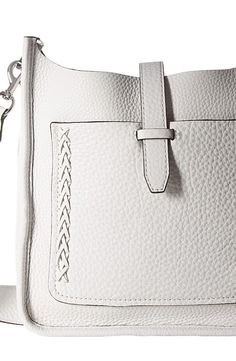 Rebecca Minkoff Small Unlined Feed Bag with Whipstitch (Optic White) Handbags - Rebecca Minkoff, Small Unlined Feed Bag with Whipstitch, HSP7EUWX92-129, Bags and Luggage Handbag General, Handbag, Handbag, Bags and Luggage, Gift - Outfit Ideas And Street Style 2017