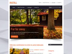 InStill is an extraordinary free WordPress theme in vivid colors and flat details. Stylish shadows and many animation effects make the visitor read your website longer. As well as it is attractive, it is very powerful at the backend. Your website will work fast and provide you a lot of additional options whithout installing any third-party plugin. Social Bar, Seo Optimization, Themes Free, Responsive Web Design, The Visitors, Premium Wordpress Themes, Third Party, Vivid Colors, Shadows