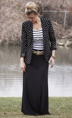 one maxi skirt tutorial, several great looks- by elle apparel | kojodesigns