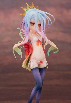 [Preview – Figurine] Shiro Swimsuit style – No Game No Life – Aquamarine - Ruru-Berryz MoePop (1)