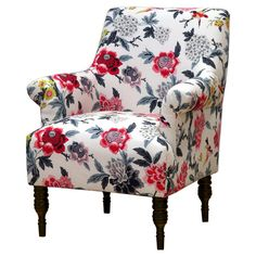 Candace Arm Chair - Skyline. Image 1 of 4.