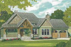 The best Craftsman house floor plans. Find 1 story Craftsman cottage style designs, modern Craftsman homes w/photos & more! Craftsman Cottage, Craftsman Style House Plans, Cottage House Plans, Dream House Plans, Cottage Homes, House Floor Plans, Craftsman Homes, Craftsman Remodel, Craftsman Exterior