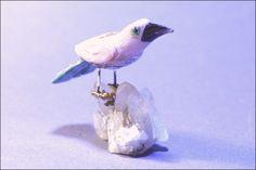 Oiseau pierre semi-précieuse 14