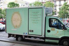 Ladurée truck = Ladurée delivery? I know...wishful thinking