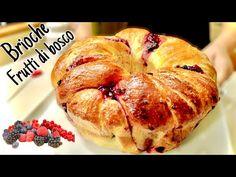 ΠΟΛΥ ΗΛΙΚΗ ΜΠΡΙΖΙ ΜΕ ΑΓΡΙ ΜΟΥΡΕΙΑ - YouTube Bread Machine Recipes, Bread Recipes, Fun Recipes, Brioche Bread, Comida Latina, How To Make Bread, Sweet Bread, Italian Recipes, Bakery