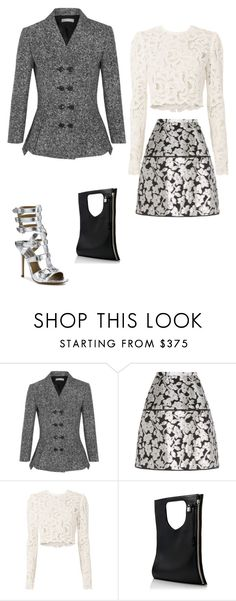 """Untitled #1682"" by anitababe46 ❤ liked on Polyvore featuring Michael Kors, Oscar de la Renta, A.L.C. and Alix"