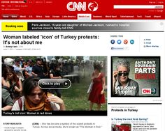 http://edition.cnn.com/2013/06/05/world/meast/turkey-woman-in-red/index.html?hpt=hp_c1 Woman in red: It's not about me | #Indiegogo #fundraising http://igg.me/at/tn5/