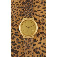 Komono Wizard Print Leopard horloge KOM-W1802 - Brandfield