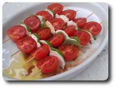 Tomatsalat på Spyd ~ Spis Med