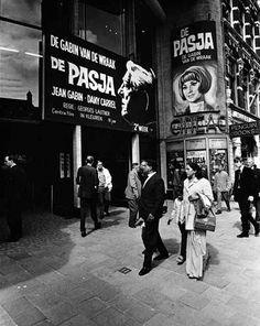 1960's. Cineac Damrak in Amsterdam. Photo Cor Jaring. #amsterdam #1960 #Damrak