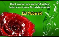 Eid thank you ecard for all you know. Free online Thank You For Your Eid Wishes ecards on Eid ul-Fitr Eid Mubarak Gif, Eid Mubarak Wishes, Name Cards, Thank You Cards, Eid Greeting Cards, Eid Eid, Eid Mubarak Greetings, Joyous Celebration, Mens Kurta Designs